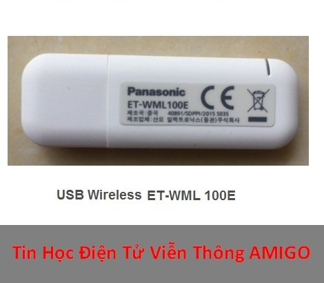 USB wireless Panasonic ET WML 100